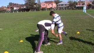 Tecnica de Tackle - Rugby