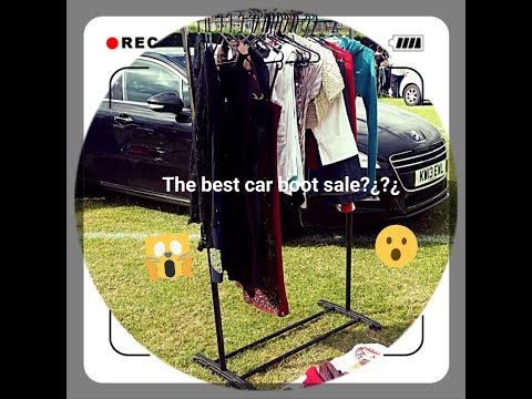 Part 2: selling at a car boot sale in London