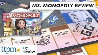 Game Review | Ms. Monopoly from Hasbro