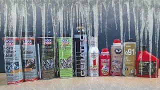 Dodatki do oleju Test Zimna -30°C Ceratec, Xado 1 Stage, Molygen, Liqui Moly MoS2, Hydro-Stossel