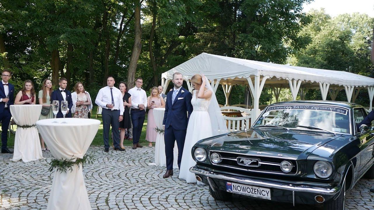 Szalony ślub w Pałacu Zdunowo - Ola i Krzysiek