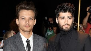One Direction's Louis Tomlinson Addresses Zayn Malik Feud Praises 'Pillowtalk' | Entertainment Tonight