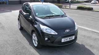 Ford KA Zetec 1.2 Petrol, Manual, Black CK11MBO Wessex Garages Newport