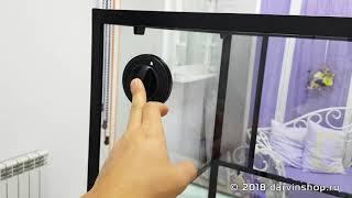 Обзор террариума ReptiZoo 60x45x60