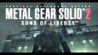 Repeat youtube video Metal Gear Solid 2 Soundtrack - Main Theme