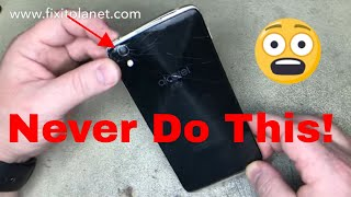 Alcatel One Touch Idol 4 Teardown, Back glass & Screen Repair From Start To Finish.