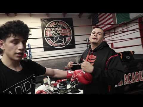 Top Amateur Rolando Vargas at Los Gallos Boxing Academy in Stockton, CA