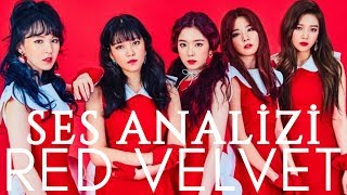 Red Velvet Ses Analizi