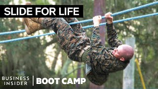 "The Toughest Obstacles Marines Face In The ""Confidence Course"" 