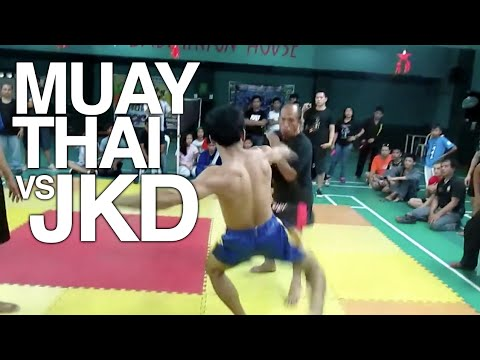 Muay Thai vs Jeet Kune Do