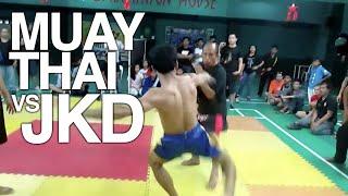 Muay Thai vs Jeet Kune Do