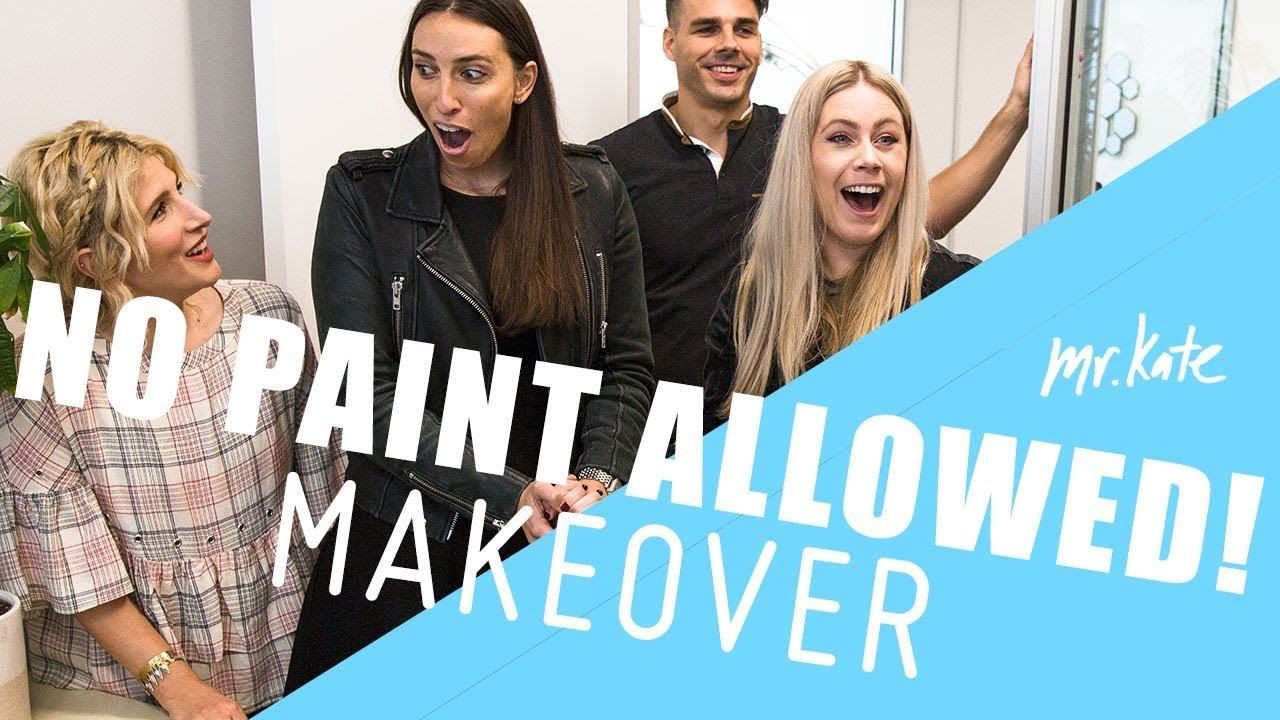 No-Paint-Allowed Makeover! | Mr. Kate