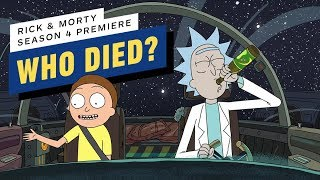 Who Died in Rick and Morty
