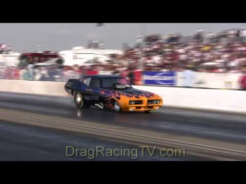 Drag Racing Nitro Nostalgia Funny Cars March Meet 2009