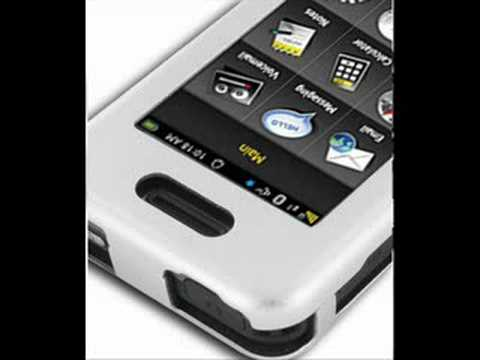 PDair Aluminum Metal Case for Samsung Instinct SPH-M800 Silv