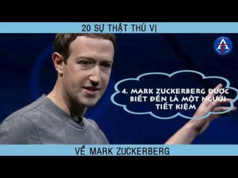 [BÀI HỌC CUỘC SỐNG] - 20 Sự Thật Thú Vị Về Mark Zuckerberg