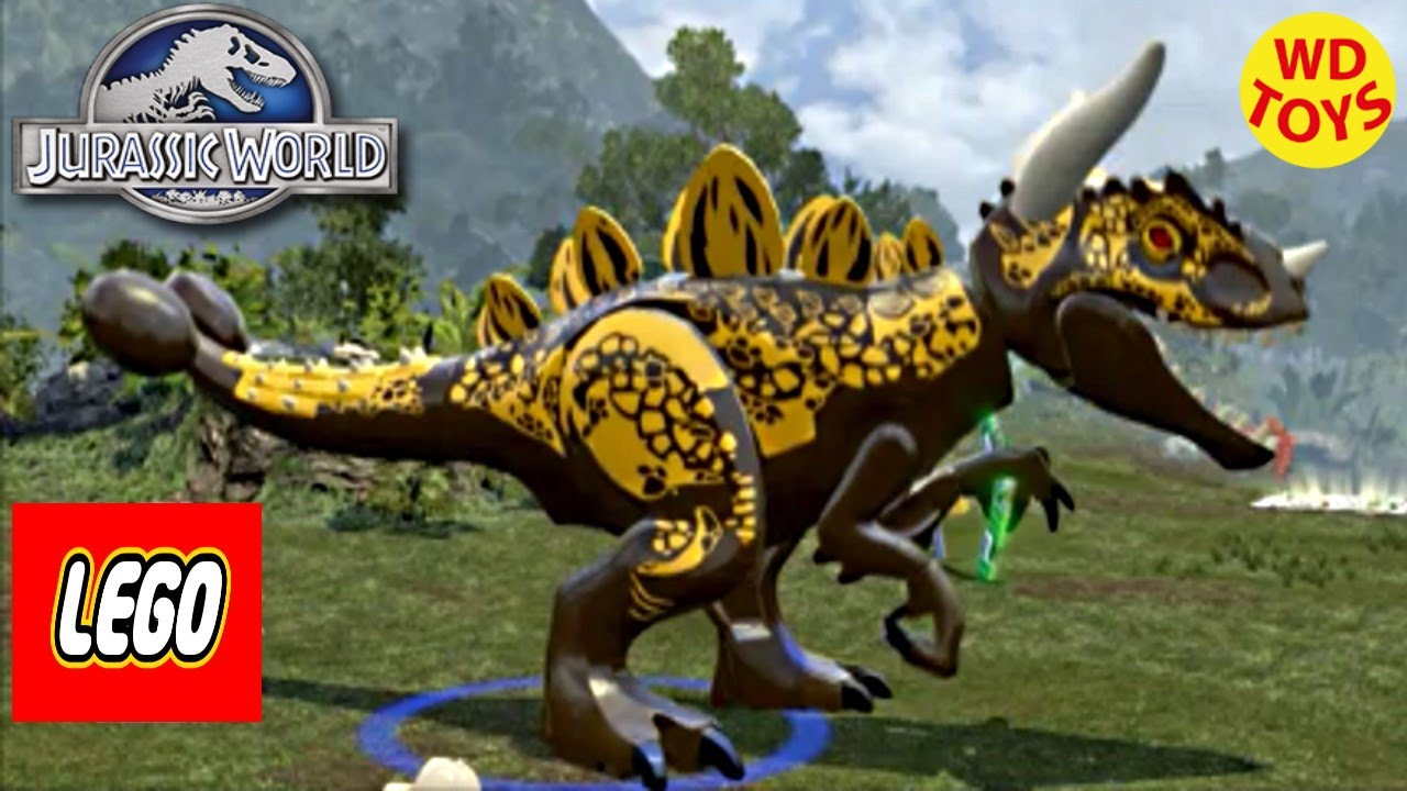 Jurassic World Lego Game Hybrid Indominus Rex Custom Dino Creator Episode 2  By WD Toys