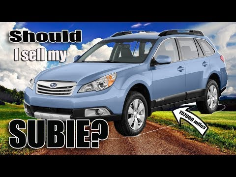 Subaru Outback 3.6r 157K miles what broke?