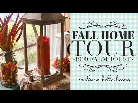 Fall Home Tour 1900 Farmhouse