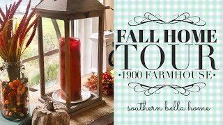 Fall Home Tour 1900 Farmhouse
