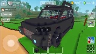 Block Craft 3D: BuiĮding Simulator Games For Free Gameplay #1222 (iOS & Android) | Black Jeep