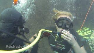 Каскадеры. Улыбка Пересмешника. Как снимают фильмы. Подводные съемки.