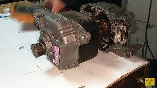 çamaşır makinası motorunu akü ile çalıştırdık