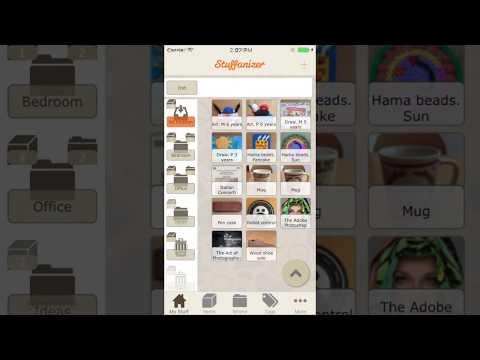 Stuffanizer: home inventory software for iOS (iPad/iPhone) v 1.6 (2017 English)