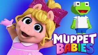 Muppet Babies Kermit & Miss Piggy Summer Arcade Mini Games - Disney Junior App For Kids