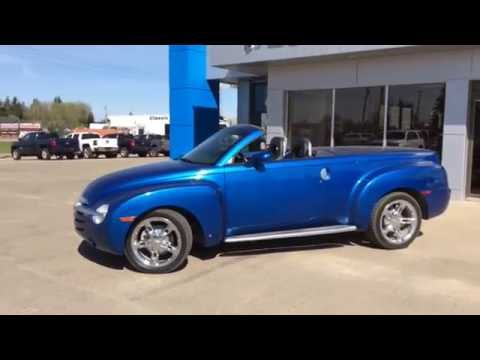 2006 Pacific Blue Metallic Chevrolet Ssr Base For In Westlock Stock T1627
