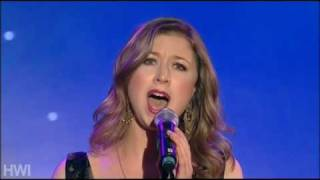 Santa Lucia - Hayley Westenra at the Variety Club Awards 2008