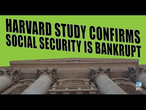 Havard Study Finds Social Security is Bankrupt as Debt Hits Record Levels!