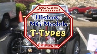 Introduction to T-type MGs on the MG Cars Channel -
