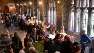 Christmas Fayre in the Cloisters at Worcester Cathedral Thumbnail