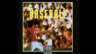 World Class Baseball (TurboGrafx-16)