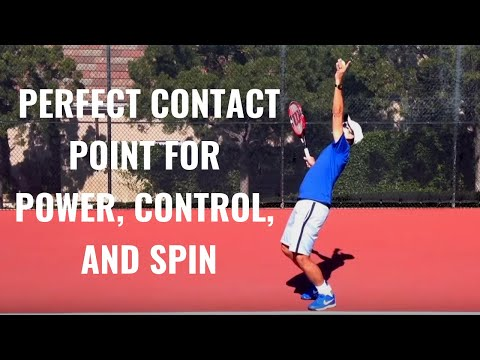 how to add power to your tennis serve