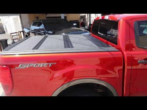2019 Ford Ranger UnderCover Armor Flex Truck Bed Cover & BedRug Liner