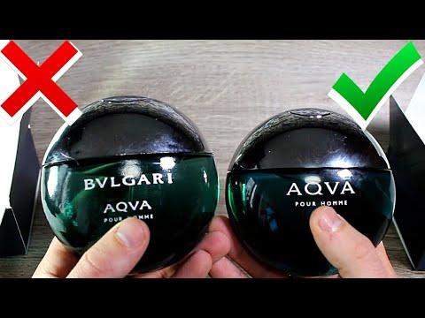 Bvlgari Aqva Pour Homme как отличить подделку 100 мл.