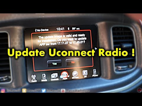 How To Update Uconnect Radio