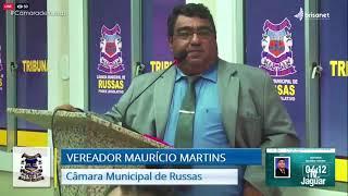Mauricio Martins   Pronunciamento Câmara de Russas   26 01 21