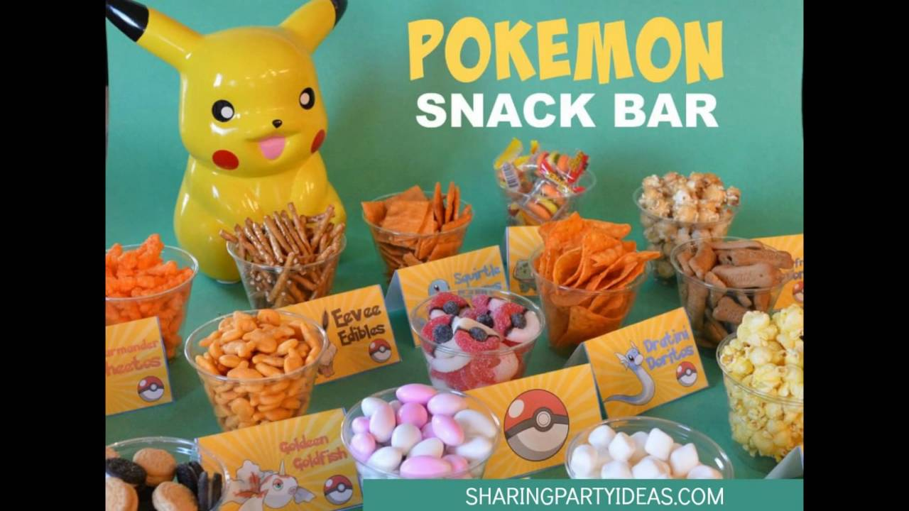 Pokemon snack bar youtube for Bash bash food bar vodice