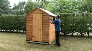 How To Build A Garden Shed Onto A Wooden Base