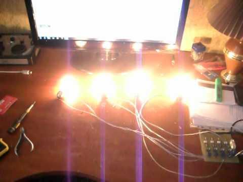 Цветомузыка 220 вольт