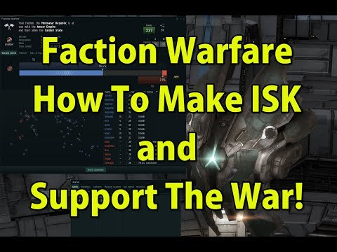 🔴LIVE Faction Warfare, How It Works, Make Money and Support The War - EVE Online  Presented in 4k