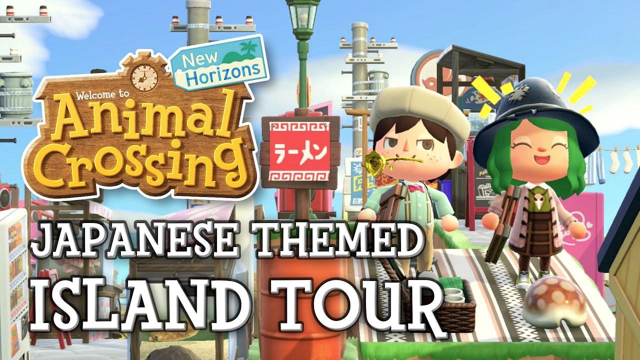 Incredible Japanese City Animal Crossing New Horizons 5 Star