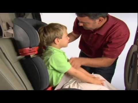 Child Booster Seat Installation