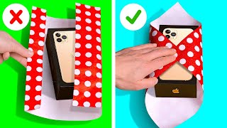 26 SMART HACKS FOR EASY LIFE || EASY GIFT WRAPPING IDEAS
