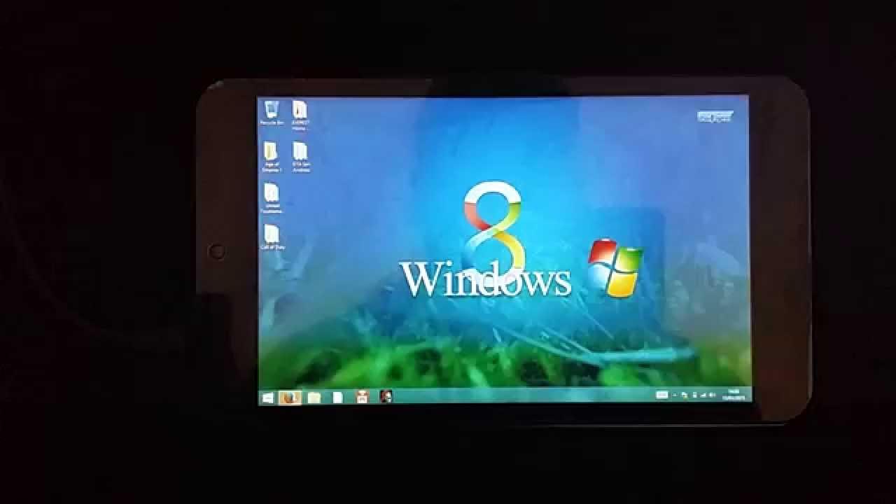 linx 7 tablet, how to change desktop wallpaper - youtube