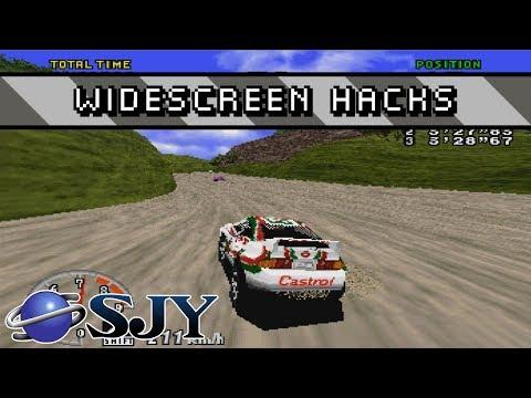 Sega Saturn Widescreen Hacks