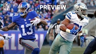 Giants vs. Cowboys (Week 1 Preview) | Around the NFL Podcast